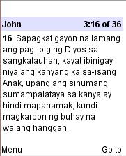 GoBible - Magandang Balita Biblia 2012 edition
