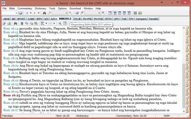 Magandang Balita Biblia 2012 Edition